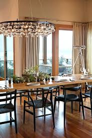 arctic pear chandelier glass chandeliers for dining room seeded contemporary with creative copy