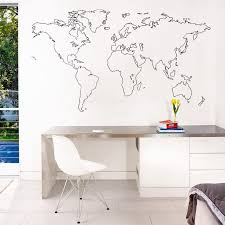 Small Picture 25 best World map wall ideas on Pinterest Bedroom wallpaper