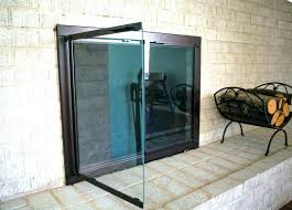 lovely glass front fireplace doors lovely glass door fireplace door