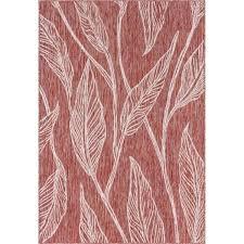 red outdoor carpet unique loom leaf rug al uk indoor red outdoor carpet