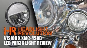 vision x xmc 45rd led par36 4 5 light review and comparison headlight revolution