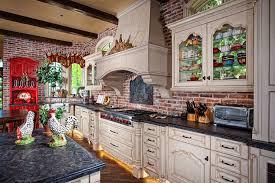 Kitchen Brick Backsplash More Image Ideas
