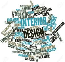 Words Associated With Graphic Design Abstract Word Cloud For Interior Design With Related Tags And