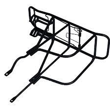 Zurück hinten bag pannier rack legierung fahrrad sattelstütze rahmen