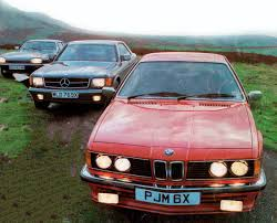 BMW Convertible bmw retro car : Giant drive retro luxury Coupe - 1983 BMW 635CSi E24 vs. Jaguar ...