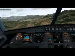 Airbus A320 Visual Approach Runway 36 Lfkc Corsica Xplane10 Jardesign A320neo