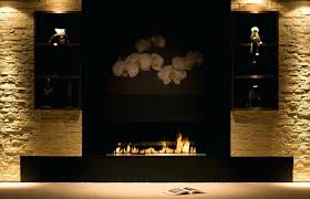 smlf gas fireplace glass cleaner reviews modern surround sandstone wall interior clean insert inserts