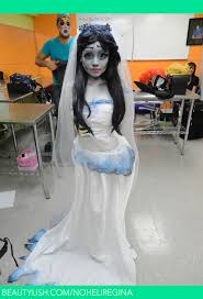 how to make corpse bride makeup