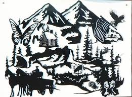 metal wall art plaque of nature and natural scenery as well as  on custom cut metal wall art with custom metal art designs industrial and commercial signs cnc