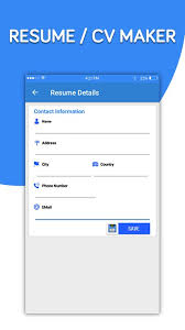 Cv Makerfree Resume AppBest Resume Making App For Android APK Extraordinary Best Resume Creator App