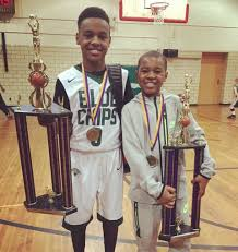 lebron james son playing basketball at home.  Son LeBron James Watches Sons Dominate Akron Hoops Tournament Video   Clevelandcom Throughout Lebron Son Playing Basketball At Home