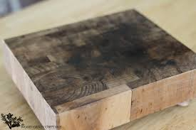how to clean re an old cutting board by the wood grain cottage