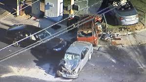 Woodbury Middle School Las Vegas Stolen Car Causes Three Vehicle Crash In The East Valley Ksnv