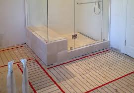 heated tile floors in bathrooms. radiant heated bathroom floors tile in bathrooms
