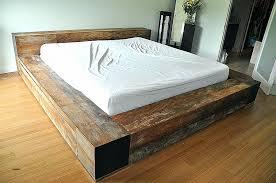 king size pallet bed bed frames beautiful pallet bed frame instructions high definition