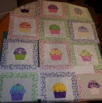 Cupcake Block & I decided to use a couple of different cupcake templates that I think I  found on Sindy Rodenmayer of FatCat Patterns website. She has changed her  website ... Adamdwight.com
