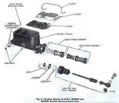 chevrolet master cylinder diagram chevrolet database wiring dave s place bendix dual system master cylinder