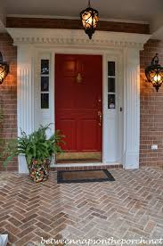 front door kick platePaint Your Front Door Red