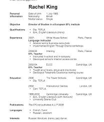 Simple Resume Exampleprin
