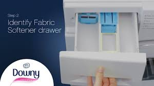 How Much Fabric Softener To Use How To Use Fabric Softener Front Loader Downy Youtube