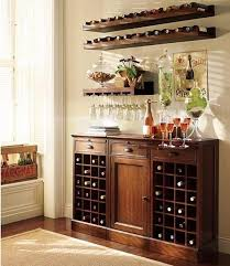 Decorations  Rustic Modern Home Bar Decor Ideas With Light Brown Bar Decorating Ideas For Home
