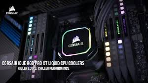 corsair icue rgb pro xt cpu cooling