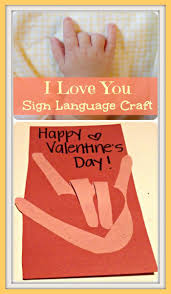 I Love You Crafts I Love You Sign Language Craft Pictures Photos And Images For