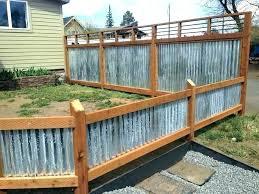 sheet metal fence designs corrugated metal fence panels sheet metal fence panels corrugated metal fence