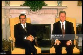 oval office fireplace. Chilean Pres. Eduardo Frei (L) Mtg. W. Bill Clinton Oval Office Fireplace L
