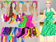 barbie high dressup