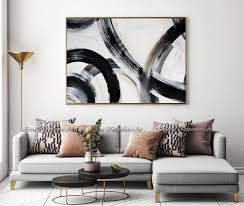 neutral art oversized wall art