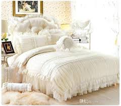white lace duvet cover double white lace duvet cover canada whole fancy pure white lace princess