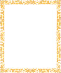 black and gold frame png. Gold Cool Border Margin Clip Art At Clker Com Vector Online Mwpcl3 Clipart_3488 Black And Frame Png