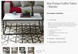 Cb2 Round Coffee Table Dsk Steph My Dream Discontinued West Elm Marble Coffee Table