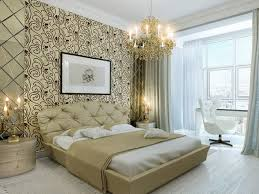 beautiful wallpaper for luxury master bedroom