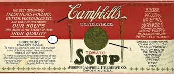 A Condensed History Of The Campbells Tomato Soup Can Food Republic