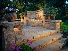low voltage retaining wall lights breathtaking implausible landscape garden home ideas 29
