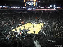 At T Center Section 113 San Antonio Spurs Rateyourseats Com