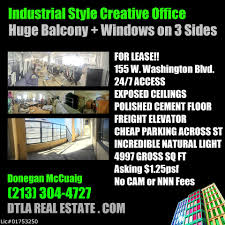 creative office spaces. Creative Office Space For Lease In Downtown Los Angeles Spaces