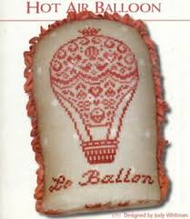 French Cross Stitch Charts Details About Jbw Designs French Country Hot Air Balloon Cross Stitch Charts Leaflet Only