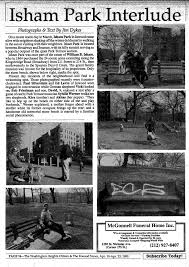 the newspaper essay words short essay on newspaper reading inwood s isham park turns my inwood