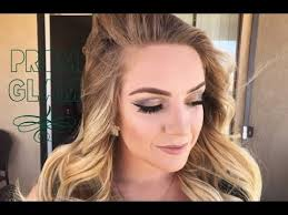 prom queen easy glam makeup tutorial