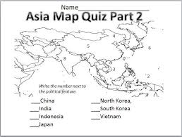1162015 Map Asia Test asia geography test on wednesday map of asia test