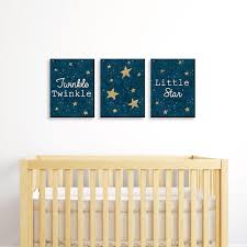 4.7 out of 5 stars. Twinkle Twinkle Little Star Baby Boy Nursery Wall Art Kids Room Decor 7 5 X 10 Inches Set Of 3 Prints Bigdotofhappiness Com