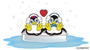 girl penguin clip art black and white. Interesting Art Ice Ocean Water Sit Headphones Winter Two Couple In Girl Penguin Clip Art Black And White E