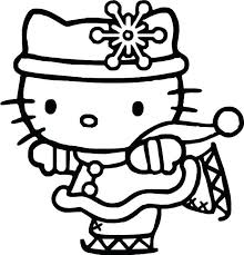 Download Coloring Pages To Print Of Hello Kitty Getwallpapersus