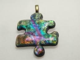 fused glass pendants by lynn smythe