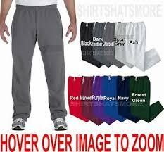 Gildan Open Bottom Sweatpants Size Chart Details About Gildan Big Mens Open Bottom Sweatpants No Pockets Warm Sizes 2xl 3xl 4xl 5xl New