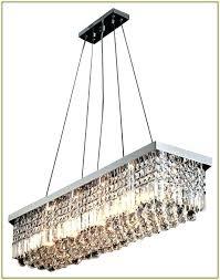 incredible bronze rectangular chandelier bronze rectangular crystal chandelier v2273601