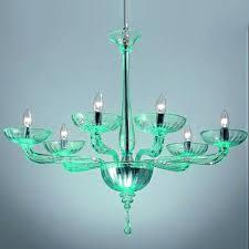 modern fresh green crystal chandelier 13088